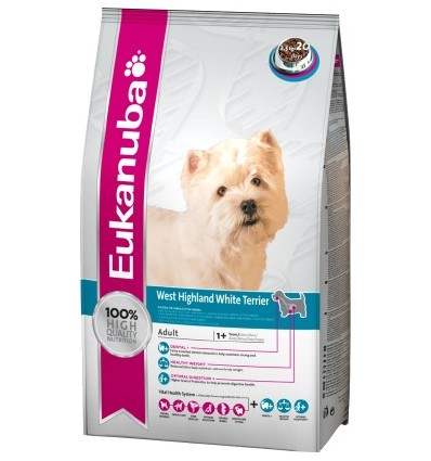 Eukanuba West Highland White Terrier 7.5Kg