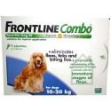 Frontline Combo Cão - dos 10 aos 20kg (1 caixa - 3 pipetas)