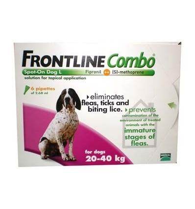 Frontline Combo Cão - dos 20 aos 40kg