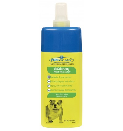 Champô Seco Spray Anti-Odor Furminator 250ml