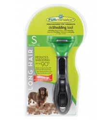 Furminator Escova Cães Raça Pequena Pêlo Curto ( - 5cm)