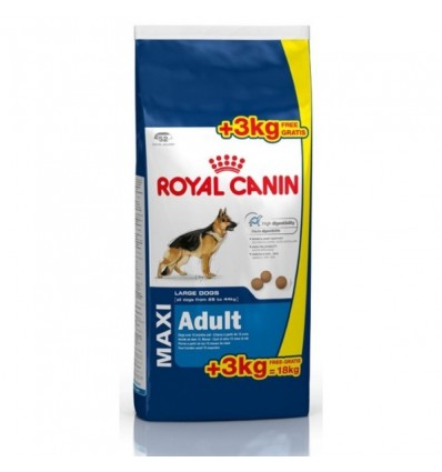 Royal Canin Maxi Adult 15 + 3Kg Oferta