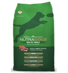 Nutra Gold Grain Free Pato e Batata Doce 13,6kg
