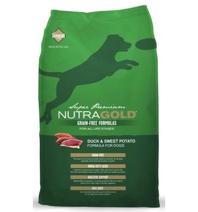 Nutra Gold Grain Free Pato e Batata Doce 2,27kg
