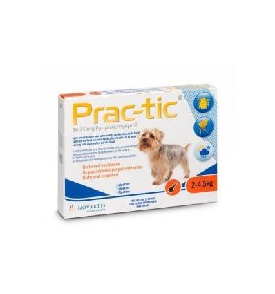 PRAC-TIC 2 A - até 4,5kg (1caixa - 3 pipetas)