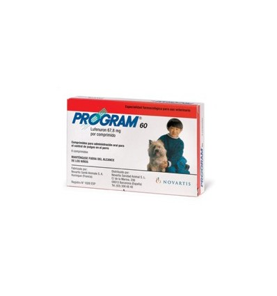 PROGRAM 67,8 2-7KG - 6 comprimidos