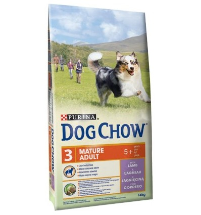 Purina Dog Chow Mature Adult Borrego 14Kg