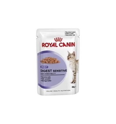 Royal Canin Gatos Digestive Sensitive Húmidos Saquetas 85g x 6 uni.