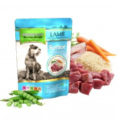 Natures Menu Dog Húmidos Sénior c/ Borrego e Frango 300g