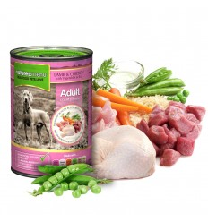 Natures Menu Dog com Borrego e Frango Lata 400g