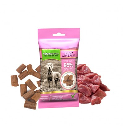 Natures Menu Snacks Dog Borrego (s/ glúten e s/ cereais) 60 g