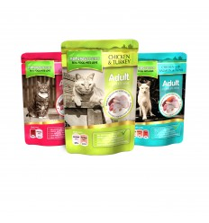 Natures Menu Cat Húmidos Multipack Saqueta 12 x 100g