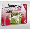 Frontline Tri-Act XL Cão 40-60KG - 3 Pipetas
