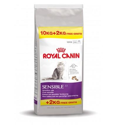 Royal Canin Sensible 33 10+2kg Oferta