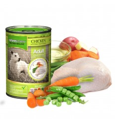 Natures Menu Dog com Frango Lata 400g