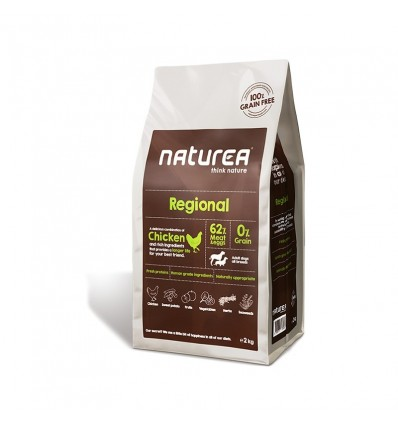 Naturea Regional (Chicken sem Cereais) 12kg