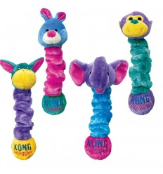 Brinquedo Kong Peluche Elástico Squiggles c/ som - L (60 cm)