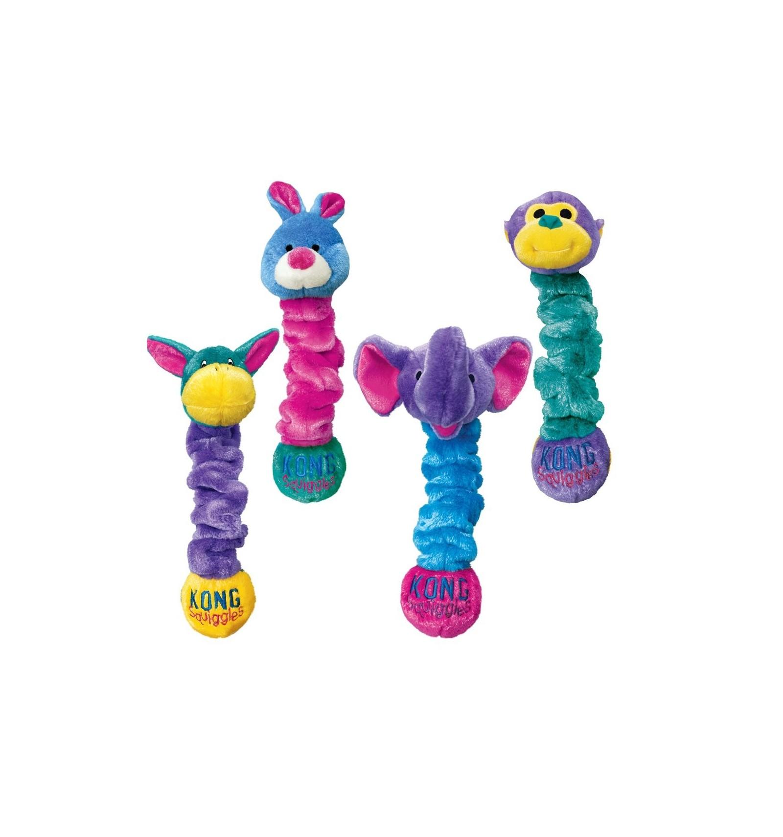0d2f621442c9 Brinquedo Kong Peluche Elástico Squiggles c/ som - L (60 cm)