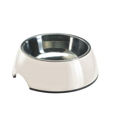 Alimentador/Bebedouro Hunter Melamina/Inox Branco - XL (1400ml)
