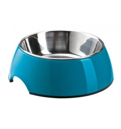 Alimentador/Bebedouro Hunter Melamina/Inox Azul - L (700ml)