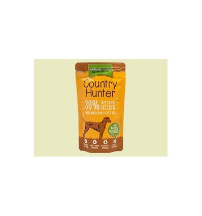 Natures Menu Country Hunter Cão Húmidos c/ Frango Saqueta 150gr