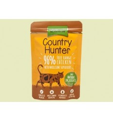 Natures Menu Country Hunter Cat com Frango Saqueta 85Gr