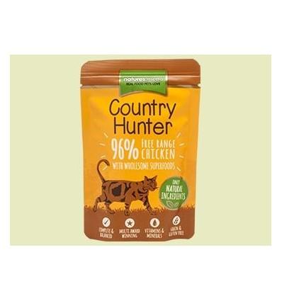 Natures Menu Country Hunter Cat com Frango Saqueta 85Gr