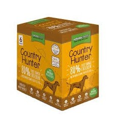 Natures Menu Country Hunter Dog com Frango Pack 6x150gr