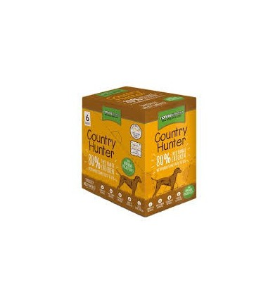 Natures Menu Country Hunter Cão Húmidos c/ Frango Pack 6x150gr