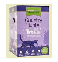 Natures Menu Country Hunter Cat com Perú e Coelho Pack 6x85Gr