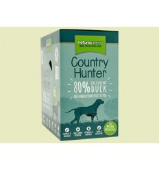 Natures Menu Country Hunter Dog com Pato Pack 6x150gr