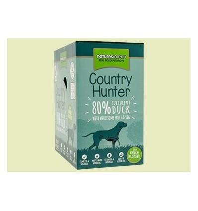 Natures Menu Country Hunter Cão Húmidos c/ Pato Pack 6x150gr