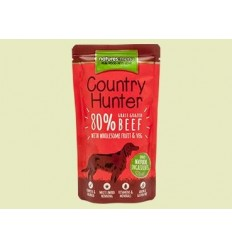 Natures Menu Country Hunter Dog Húmidos c/ Carne Vaca Saqueta 150gr