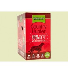 Natures Menu Country Hunter Dog com Carne Vaca Pack 6x150gr