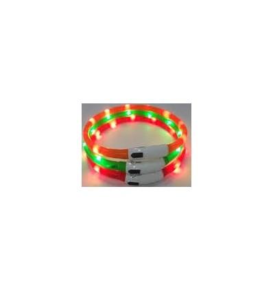 Coleira Karlie Visio Light LED Branco 70 Cm