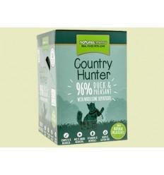 Natures Menu Country Hunter Cat Húmidos c/ Pato e Faisão Pack 6x85Gr