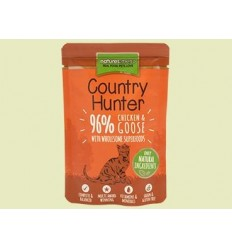 Natures Menu Country Hunter Cat com Frango e Ganso Saqueta 85Gr
