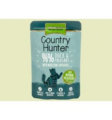 Natures Menu Country Hunter Cat com Pato e Faisão Saqueta 85Gr