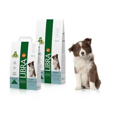 Libra Cão Puppy Frango e Arroz 15Kg