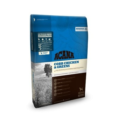 Acana Heritage Chicken & Greens 17kg