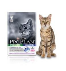 Purina Pro Plan Adult Sterilised 7+ Perú e Arroz 3KG