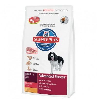Hill's Science Plan Canine Medium Adult 2,5kg