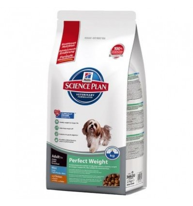 Hill's Science Plan Canine Adult Perfect Weight Mini 2kg