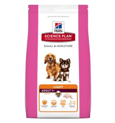 Hill's Science Plan Canine Adult Small & Miniature Light 1,4kg