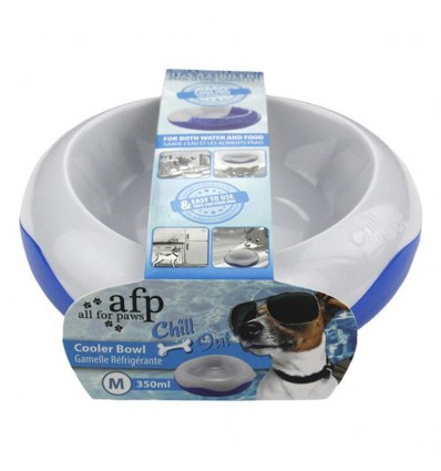 Comedouro/Bebedouro Refrescante Chill Out p/ Cães 350ml