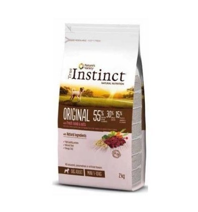 Instinct Dog Original Mini Adulto Lamb 2kg