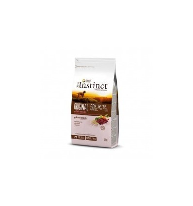 Instinct Dog Original Médium/Maxi Adulto Borrego 2kg