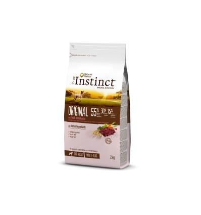 Instinct Dog No Grain Medium/Máxi Adult Salmão 2kg