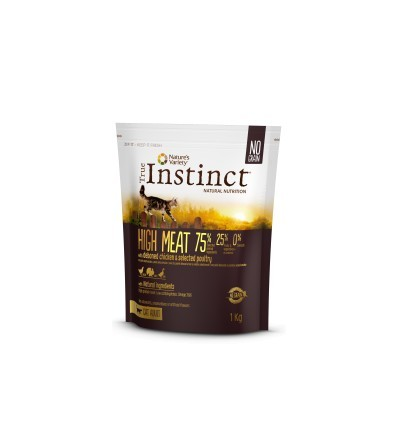 Instinct Cat High Meat Adulto Frango 1kg