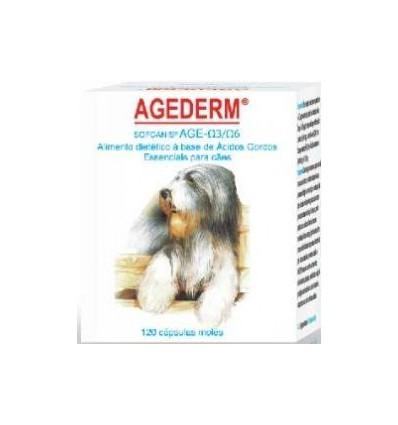 Sofcanis Agederm (ácidos gordos) 120 cápsulas